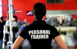 Woman trainer